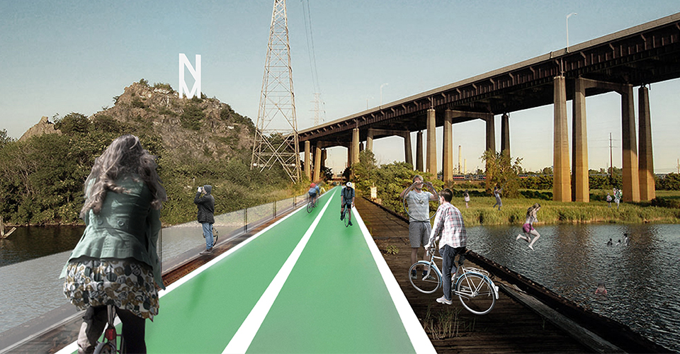A series of bicycle paths will make Meadowpark accessible